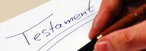 Testament gratuit ou testament notarié?